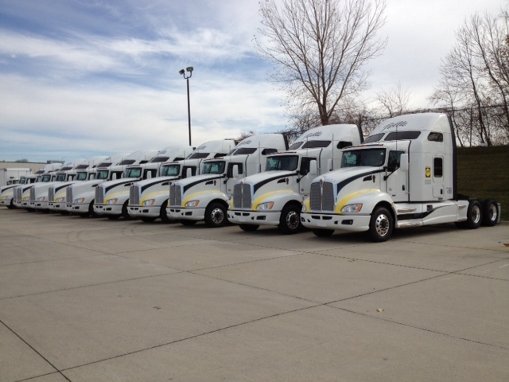 Truck Leasing Fleet Management Logistics Iowa Brown